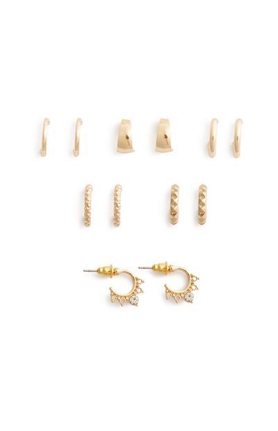 Mini Hoop Earring 6Pk