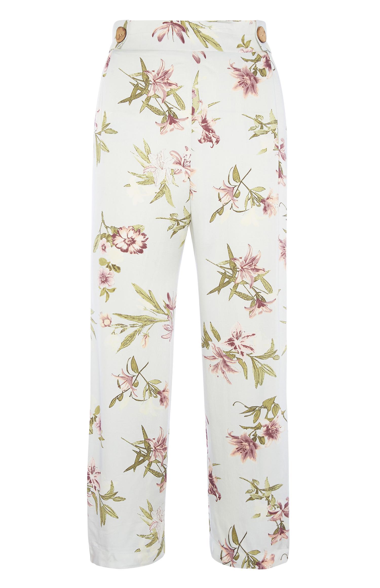Pantaloni del pigiama a fiori