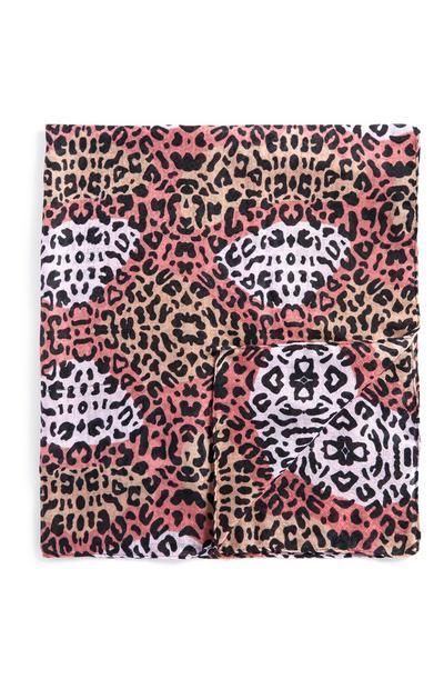 Animal Print Scarf