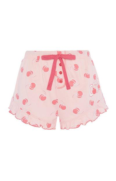 Cherry Coke Pyjama Short