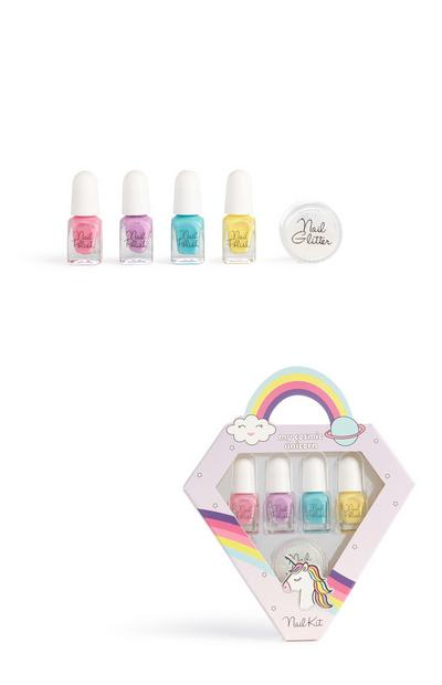 Unicorn Nail Polish Set Kit
