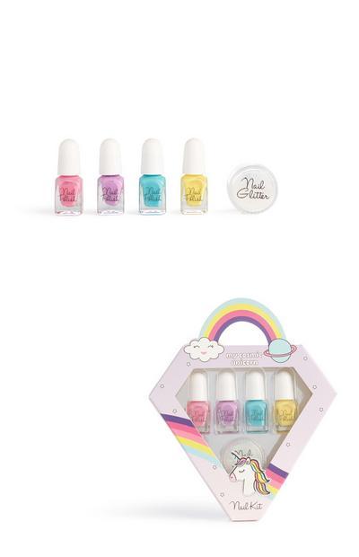 Unicorn Nail Polish Set Kit