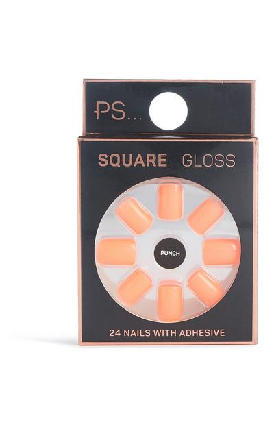 Square Gloss False Nails