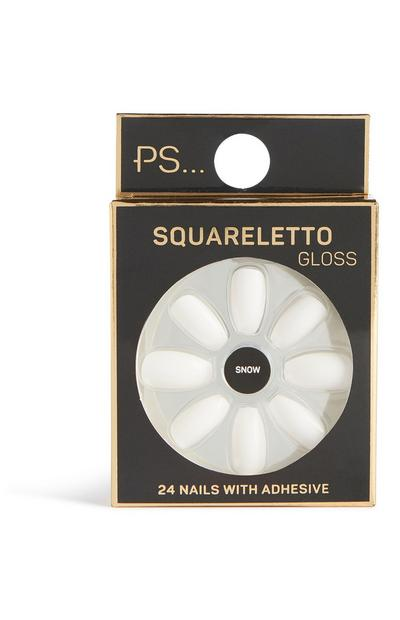 Squareletto Gloss False Nails