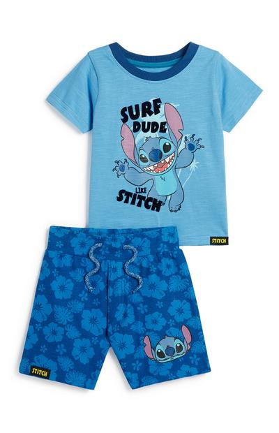 Baby Boy Stich Outfit Set