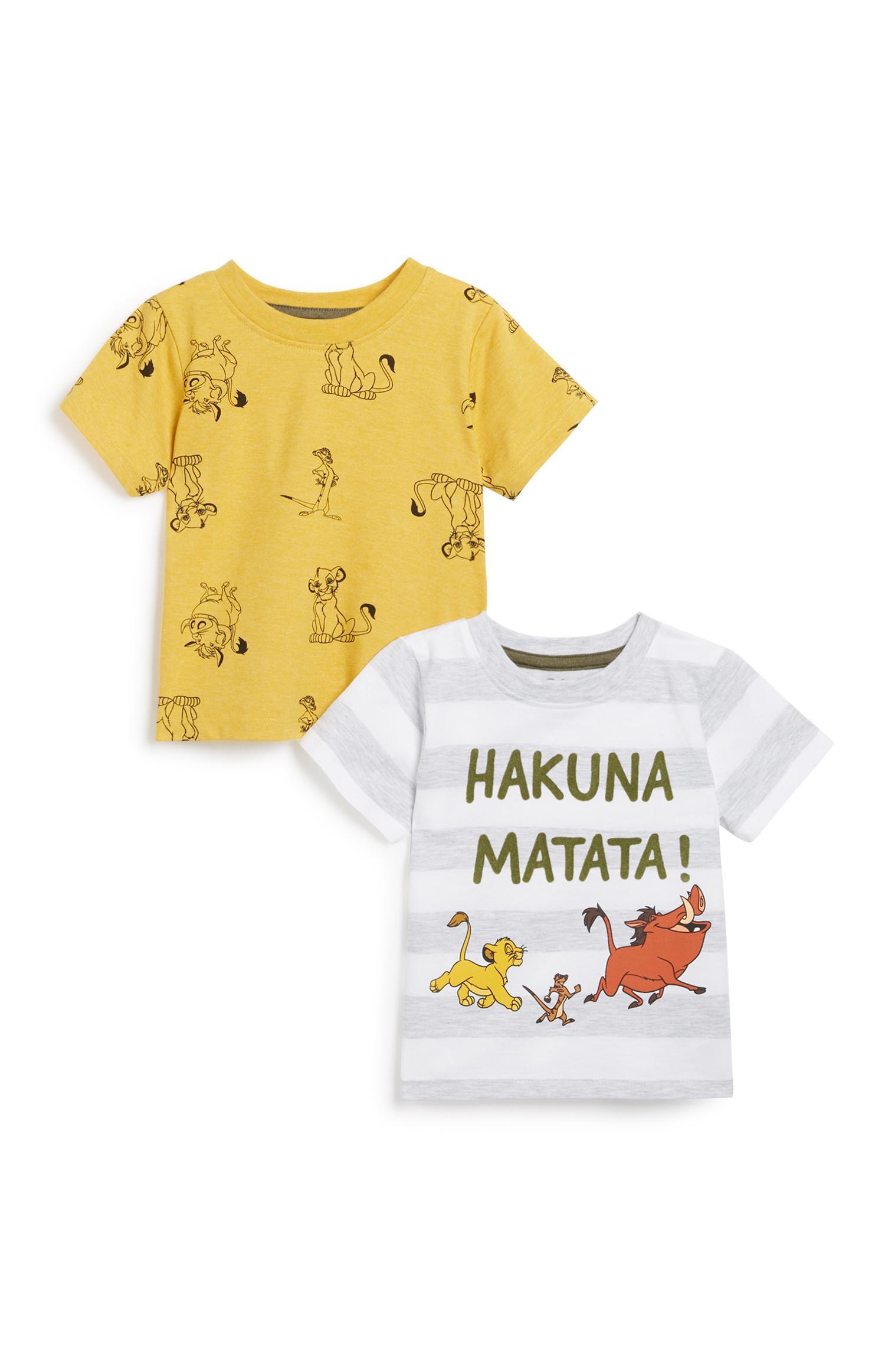 Baby Boy Lion King 2Pk T-Shirt