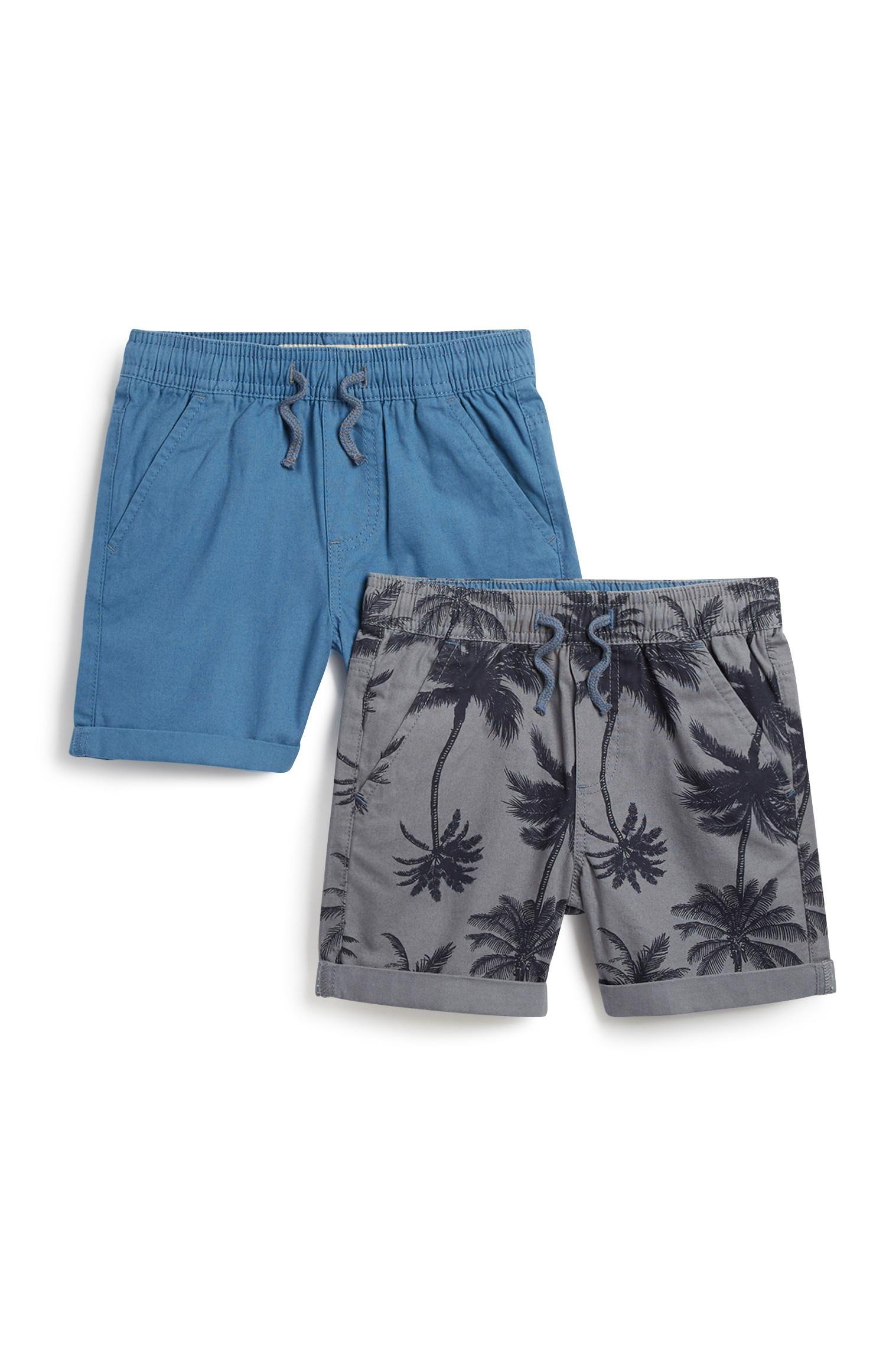 Younger Boy Canvas Short 2Pk