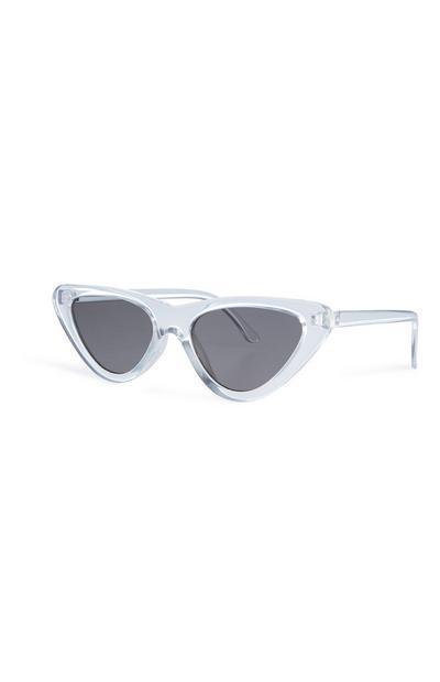 Clear Cat Eye Sunglasses