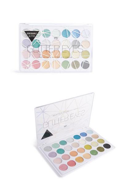 Biodegradable 28 Glitter Eye Palette