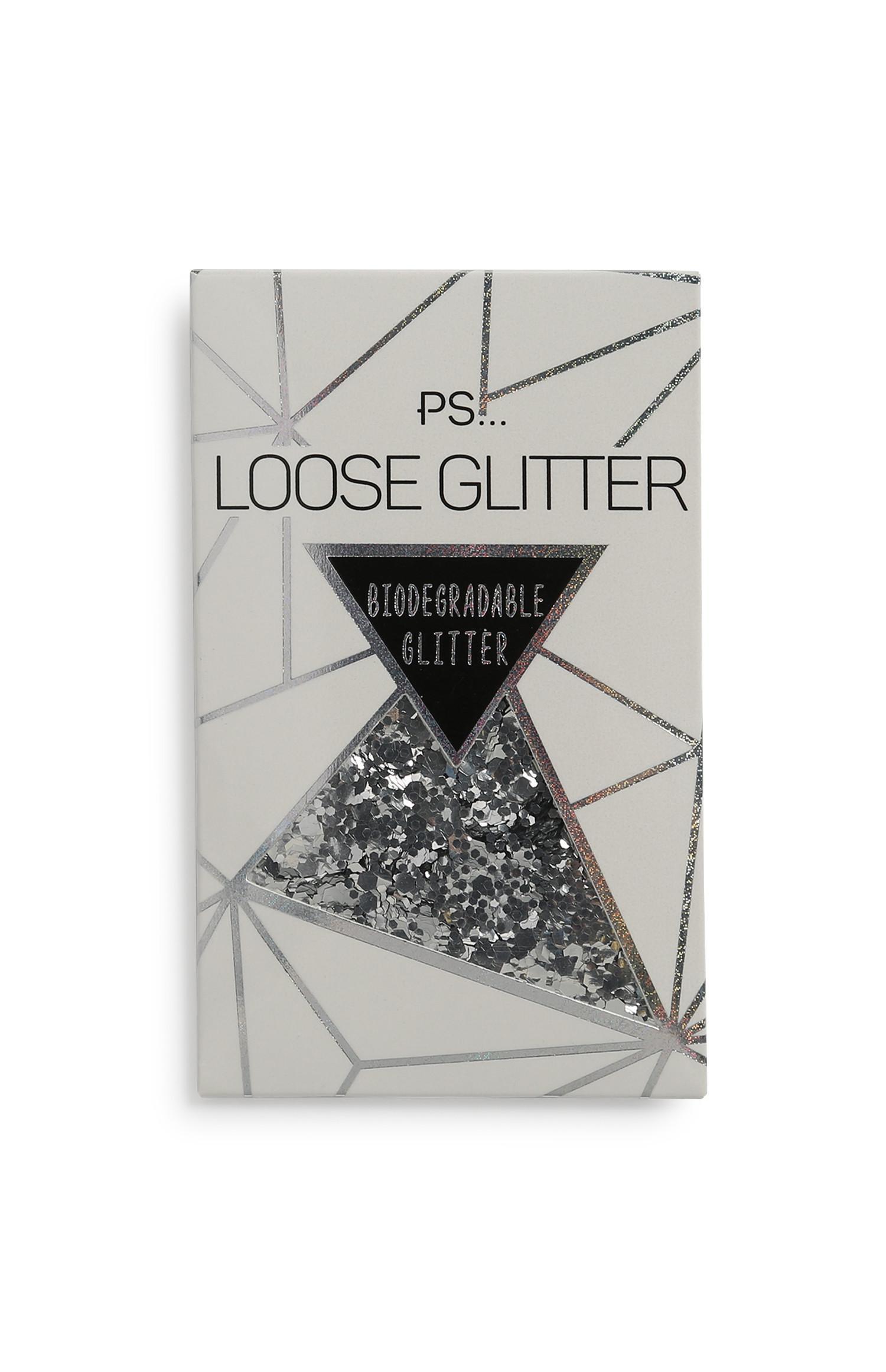 Silver Biodegradable Glitter