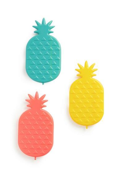 Pineapple Ice Packs 3Pk