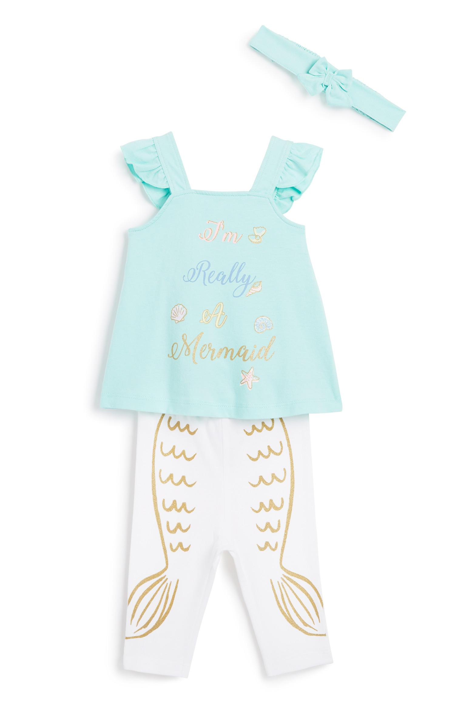 3-teiliges Outfit für Babys (M)