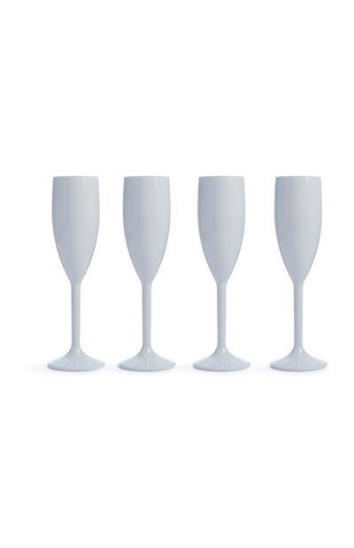 Champagne Flutes 4Pk