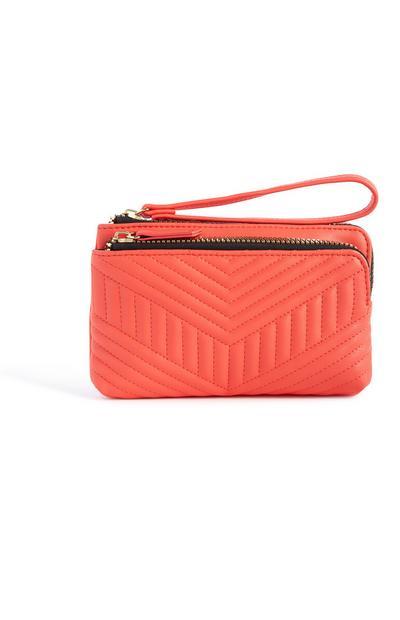 Coral Clutch Bag