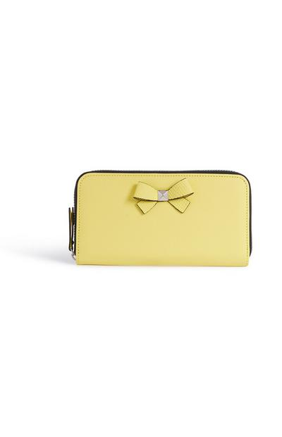 Yellow Bow Purse