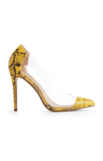 Yellow Snake Heel