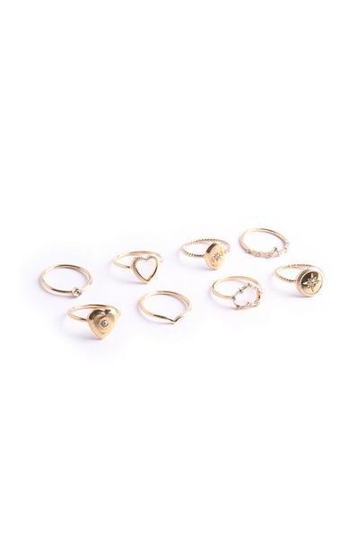 Heart Ring 8Pk