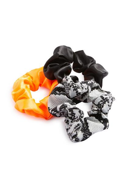 Mixed Hair Scrunchie 3Pk