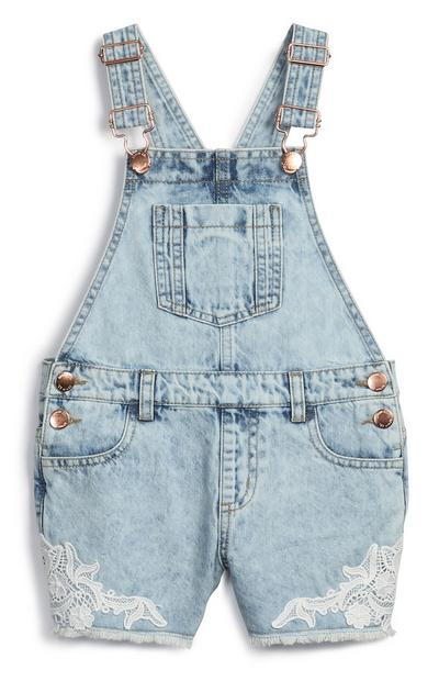 Younger Girl Dungarees