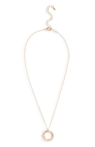 Circle Pendant Necklace