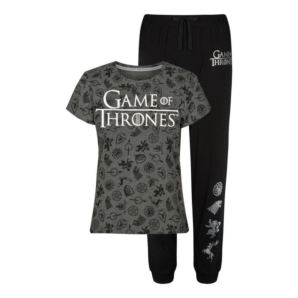 Game Of Thrones Pyjama Set Set Pyjamas Clothing
