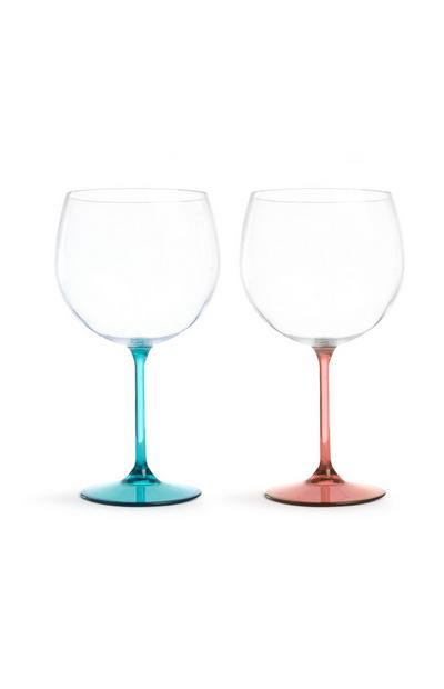 Gin Glasses 2Pk