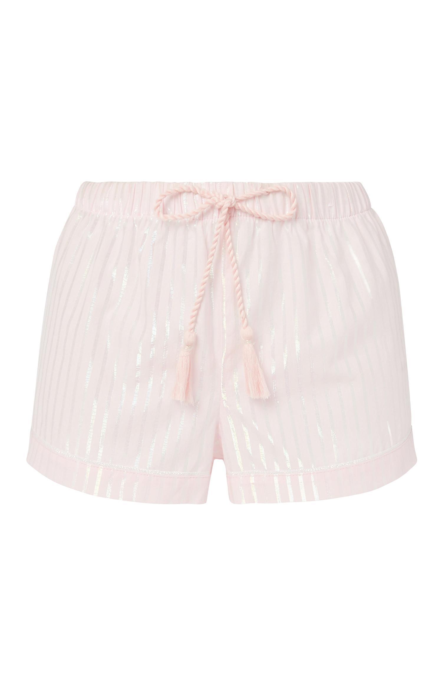 Pink Stripe Short