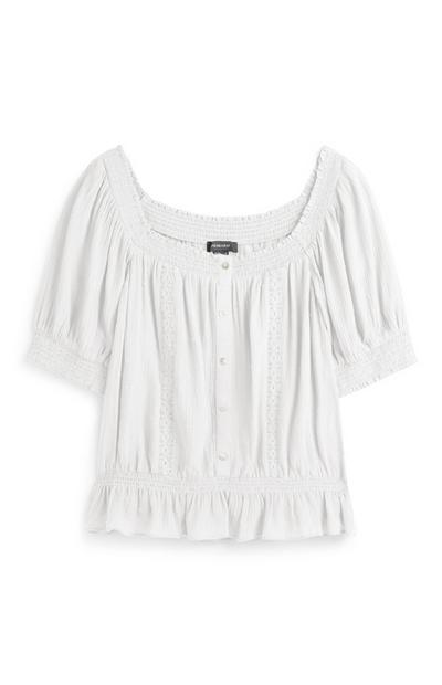 Ivory Frill Top