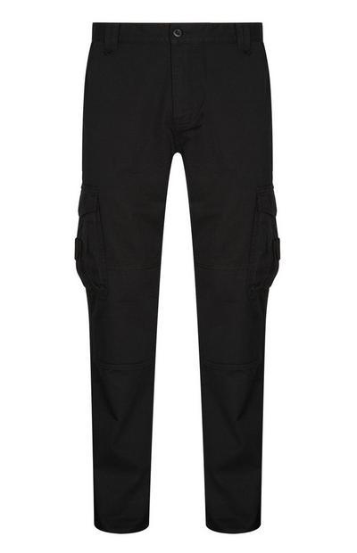 Black Utility Trouser