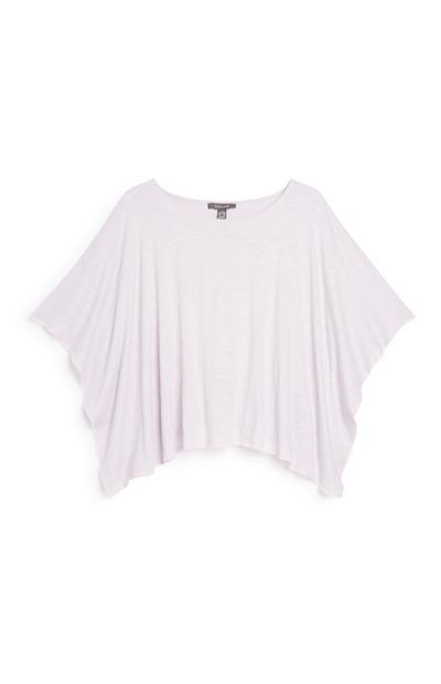 Lilac Batwing Top