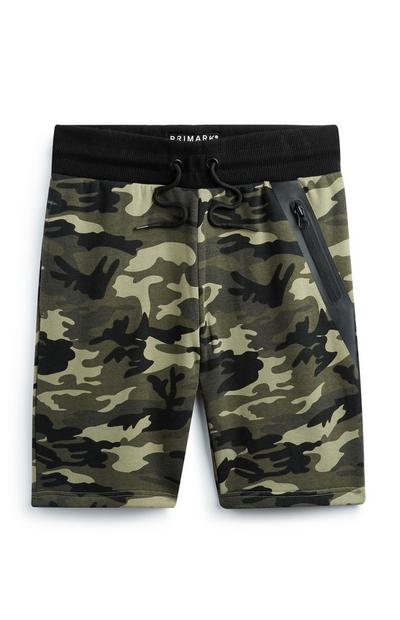Older Boy Camo Short