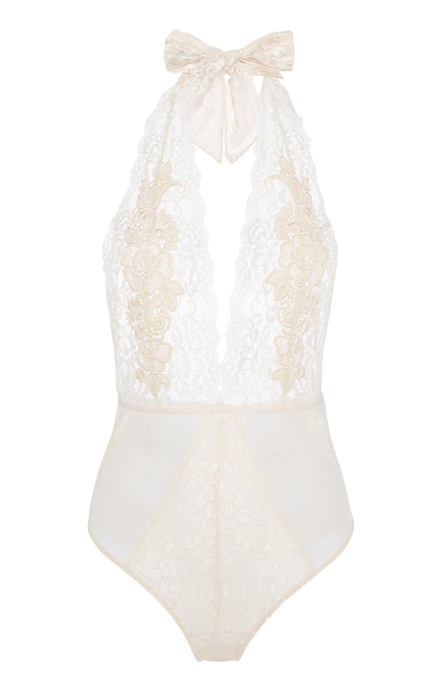Champagne Lace Bodysuit