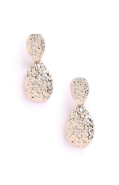 Texture Drop Earrings