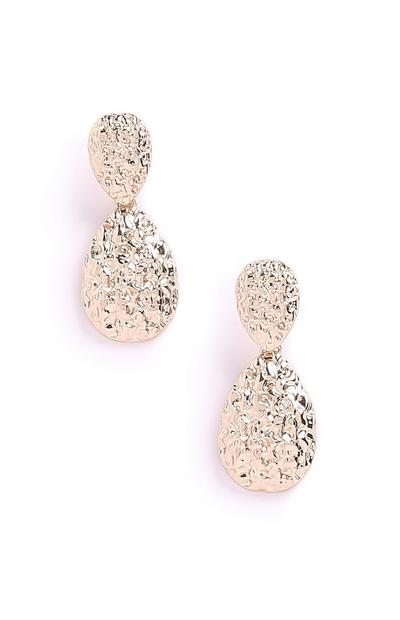 Texture Drop Earrings