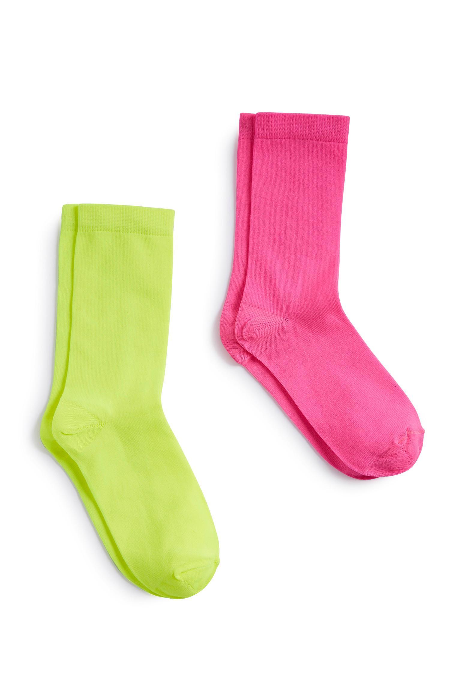 Neon Socks 2Pk