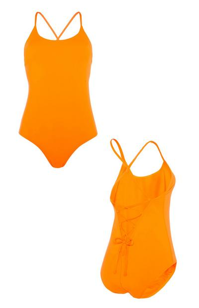 Orange Swimsuit