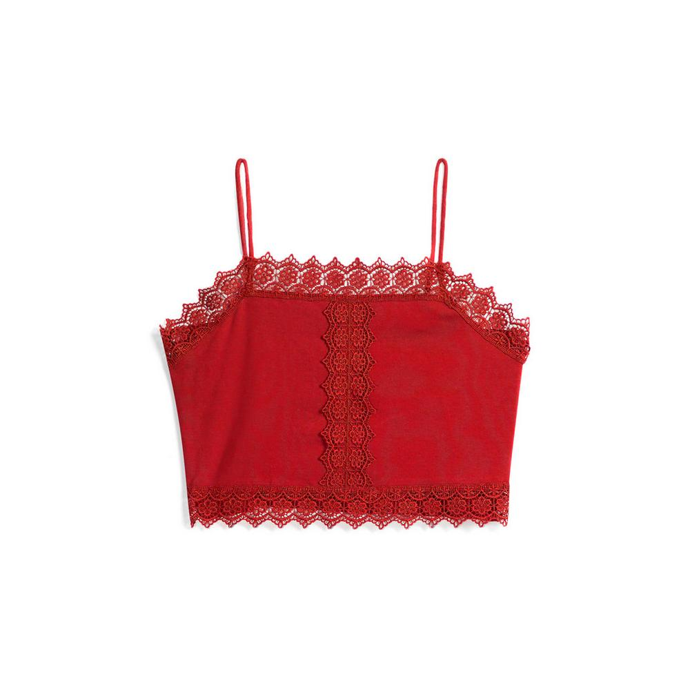 28233be386f Red Crochet Bralette | Tops | Womens | Categories | Primark Belgium ...