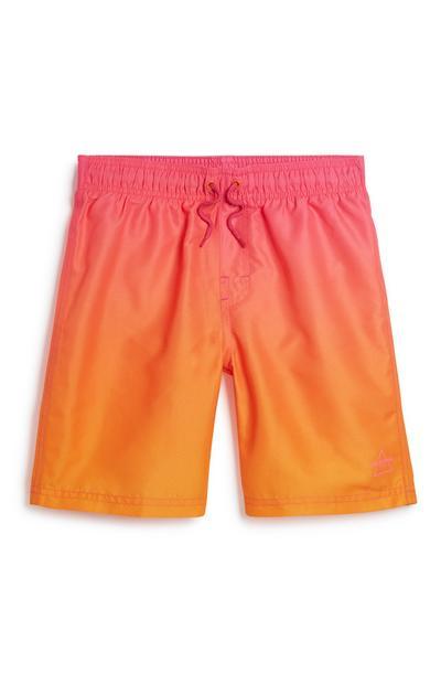 Older Boy Ombre Swim Short