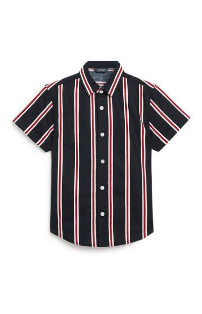 Younger Boy Stripe Shirt