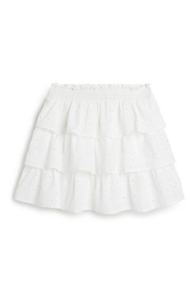 Older Girl Broderie Rara Skirt