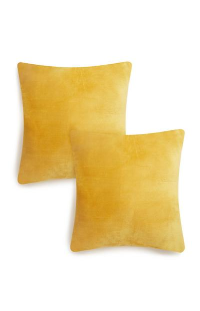 Yellow Cushions 2Pk