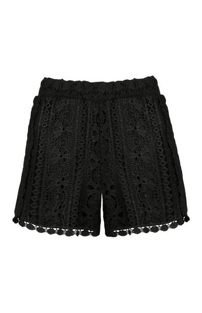 Black Lace Short