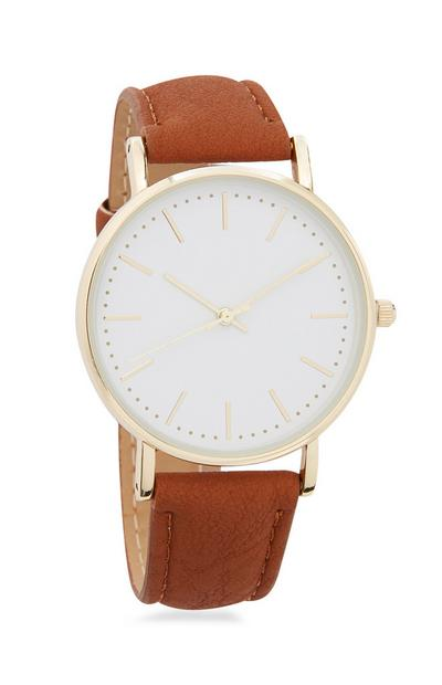 Tan Leather Watch