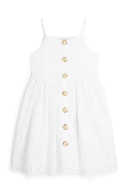 Younger Girl White Dress