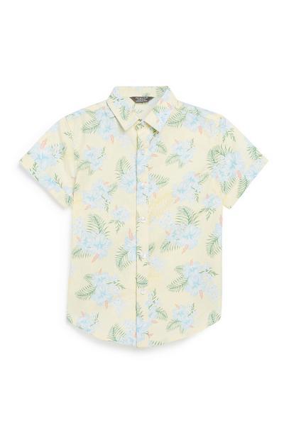 Younger Boy Hawaiian Shirt