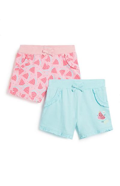 Younger Girl Watermelon Short