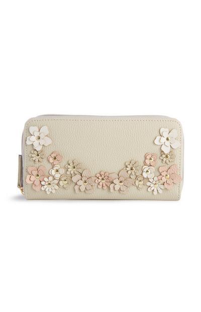 Floral Stud Wallet