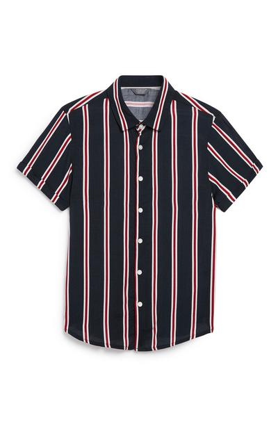Older Boy Stripe Shirt