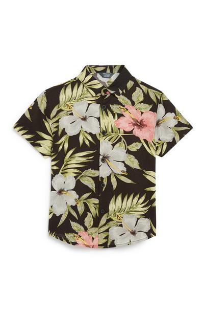 Younger Boy Hawaiian Shirt