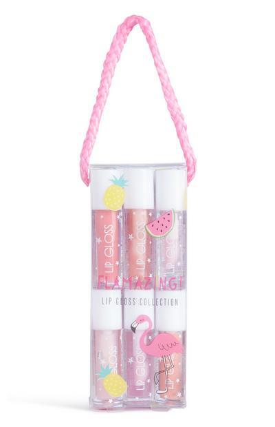 Flamingo 12Pk Lipgloss Set